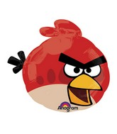 "14"" Airfill Only Angry Birds Red Bird Balloon"