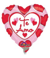 "4"" Airfill Only Te Amo Hearts"