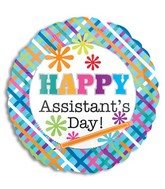 "18"" Happy Assistants Day Balloon"