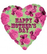 "18"" Mother&#39s Day Roses Balloon"