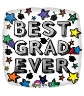 "18"" Best Grad Ever Balloon"