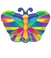 "18"" Junior Shape Tropical Butterfly Balloon"