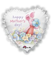 "22"" SuperShape Intricates Piglet Mother&#39s Day Balloon"