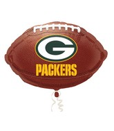 Junior Shape Green Bay Packers Football