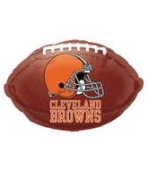 Junior Shape Cleveland Browns Football