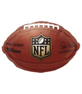 Junior Shape NFL Football Balloon