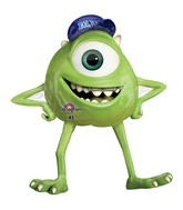 "39"" Monster University Mike Shape Mylar Balloon"