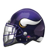"21"" Minnesota Vikings Helmet NFL Balloon"