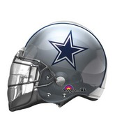 "21"" Dallas Cowboys Helmet NFL Jumbo Balloon"