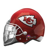 "21"" Kansas City Chiefs Helmet NFL Jumbo Balloon"