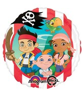 "18"" Jake Never Land Pirates Mylar Balloon"