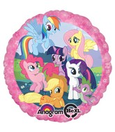 "18"" My Little Pony Group Balloon"