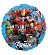 "18"" Avengers Assemble Mylar Balloon (disc)"