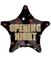 "18"" Opening Night Stars Balloon"