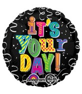 "18"" Bright It`s Your Day Mylar Balloon"