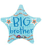 "18"" Big Brother Star Mylar Balloon"
