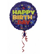 "32"" Bold Birthday Jumbo  Mylar Balloon"