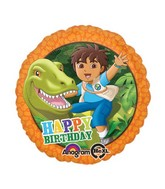 "18"" Diego Happy Birthday Dinosaur"