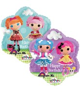 "18"" LaLaLoopsy Happy Birthday Balloon"