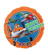 "18"" Disney Planes Happy Birthday Balloons"