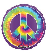 "32"" Jumbo Feeling Groovy Peace Balloon"
