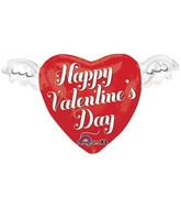 "27"" Junior Shape Happy Valentines Day Heart"