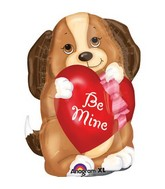 "24"" Junior Shape Adorable Puppy Love Balloon Packaged"