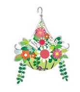 Large Shape Mother&#39s Day Hanging Basket Balloon