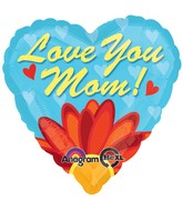 "18"" Love You Mom Daisy Balloon"