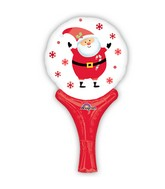 "12"" Aifill Only Inflate-A-Fun Santa Balloon Packaged"