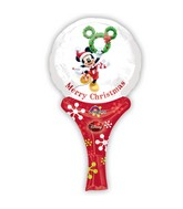 "12"" Aifill Only Inflate-A-Fun Mickey Christmas Packaged"