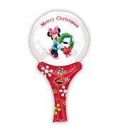 "12"" Aifill Only Inflate-A-Fun Minnie Christmas Packaged"