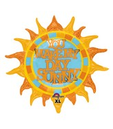 "29"" SuperShape You Make My Day Sunny Balloon"