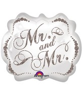 "25"" Sparkling Mr. & Mr. SuperShape"