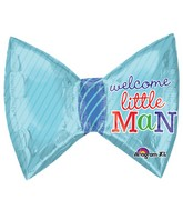 "27"" Little Prince Bow Tie Mylar Balloon"