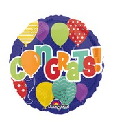 "4"" Airfill Only Congrats! in Balloons Balloon"