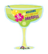 "28"" SuperShape Welcome to Paradise Balloon"