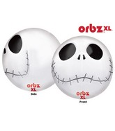 "16"" Orbz Jack Skellington Balloon Packaged"