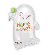 "22"" Junior Shape Ghost with Candy Balloon"
