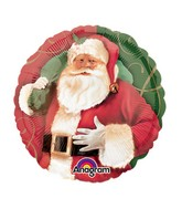 "9"" Airfill Only Santa Claus Balloon"
