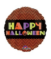 "9"" Airfill Only Neon Halloween Balloon"