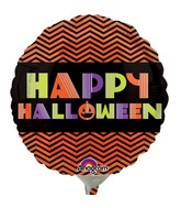 "4"" Airfill Only Neon Halloween Balloon"
