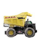"12""Airfill Only Mini Shape Tonka Dump Truck Balloon"