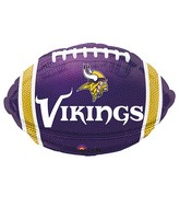 Junior Shape Minnesota Vikings Team Colors Balloon