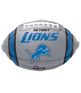 Junior Shape Detroit Lions Team Colors Balloon
