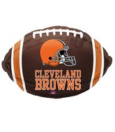 Junior Shape Cleveland Browns Team Colors Balloon