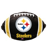 Junior Shape Pittsburgh Steelers Team Colors Balloon