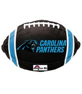 Junior Shape Carolina Panthers Team Colors Balloon