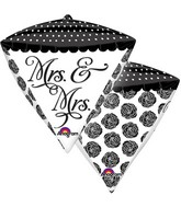 "15"" x 17"" Mrs & Mrs Sophistication Diamondz"