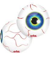 "16"" Orbz Eyeball Balloon Packaged"